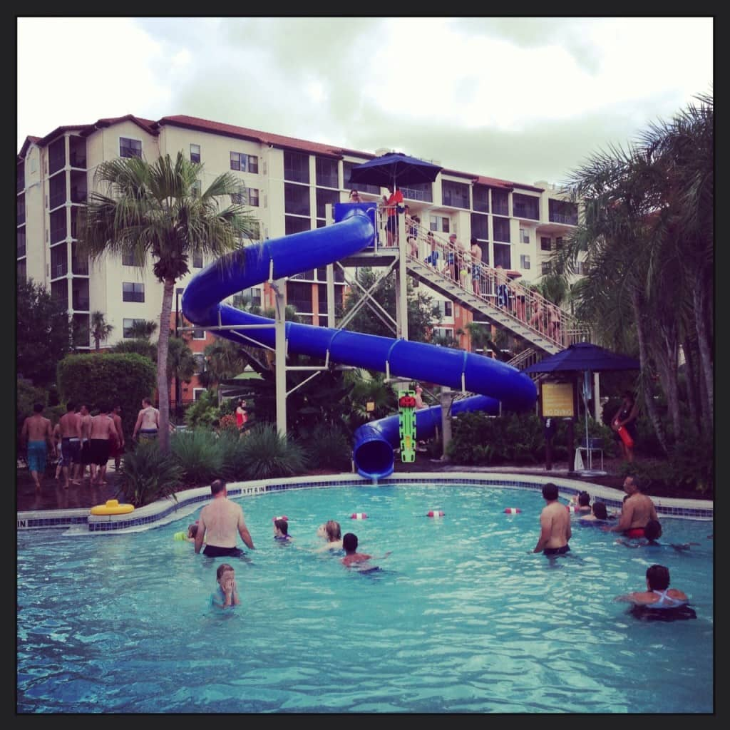 Orange Lake Water Slide