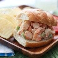 Shrimp Salad Recipe   AggiesKitchen.com #seafood #salad #shrimp