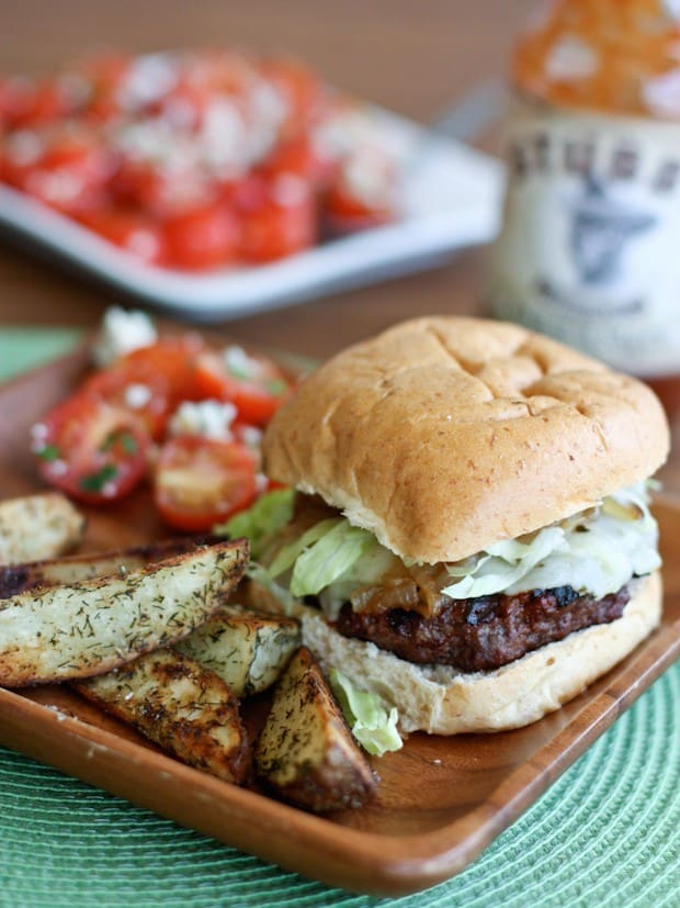 Try a lean Grilled Barbecue Bison Burger for a healthier alternative to your traditional hamburger - they are juicy and flavorful with less guilt!