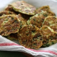 Ricotta and Spinach Fritters Recipe | AggiesKitchen.com #vegetarian #spinach #snack