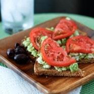 Avocado Feta Toast | AggiesKitchen.com #avocado #healthy