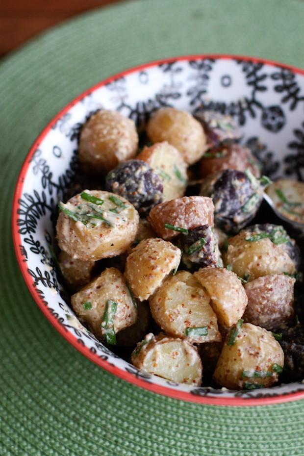 Potato Salad Recipe Chives Mustard