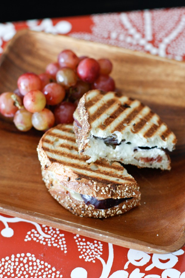 Fresh Fig, Goat Cheese, Honey and Almond Panini | AggiesKitchen.com # ...