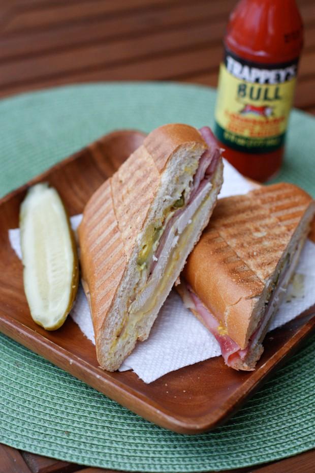 Rotisserie Chicken Cuban Sandwiches