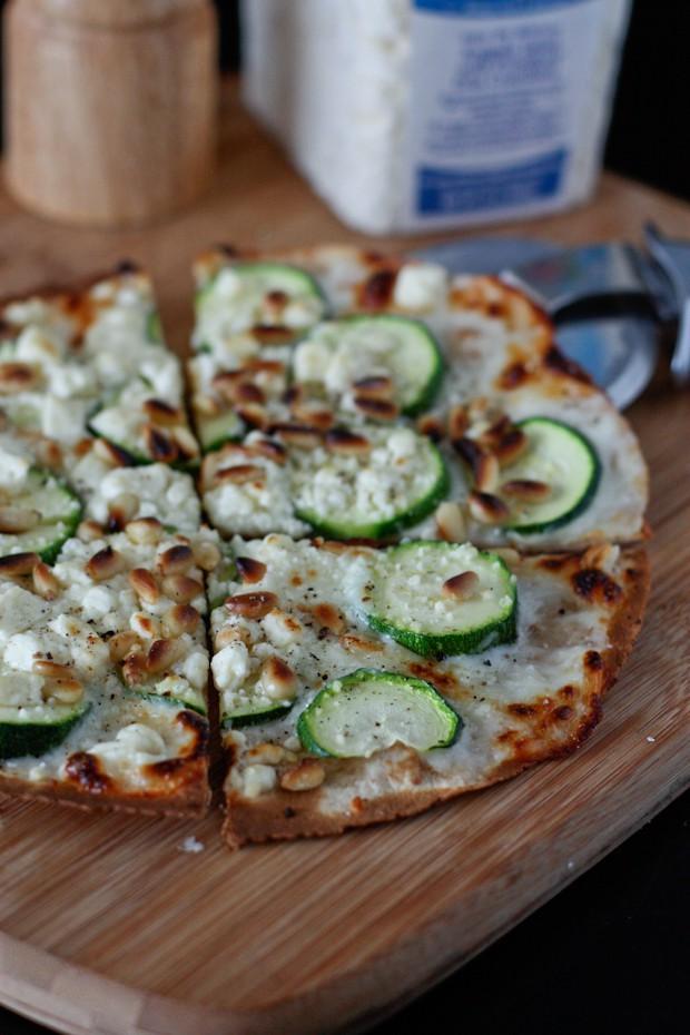 Skillet Tortilla Pizza Recipe — Dishmaps