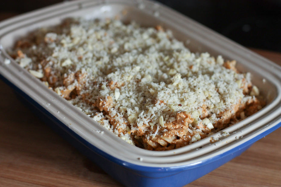 Pumpkin-Ricotta Whole Wheat Pasta Bake | Aggie's Kitchen