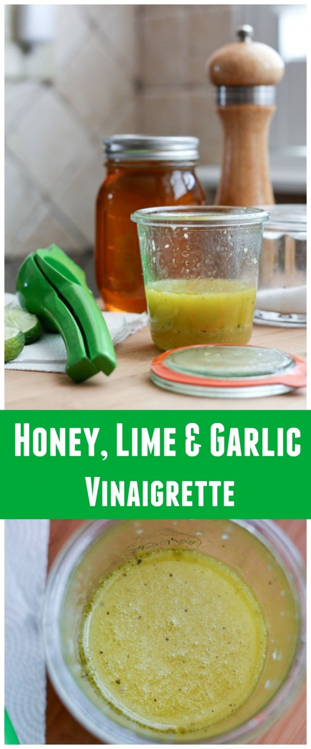 Honey Lime & Garlic Vinaigrette - an explosion of fresh, citrus ...