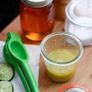 Honey, Lime and Garlic Vinaigrette | @AggiesKitchen