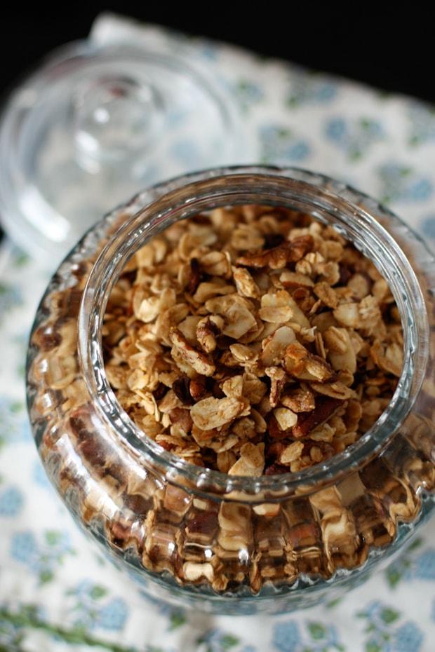 Honey Nut Cocoa Crunch Granola | AggiesKitchen.com