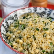 Fresh Corn and Quinoa Salad | Aggie's Kitchen
