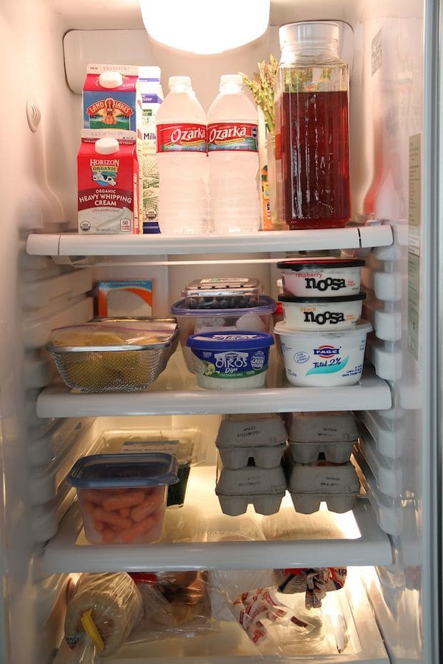 10 Things In My Fridge | Flavia's Flavors