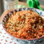Carrot Raisin Quinoa Salad | Aggie