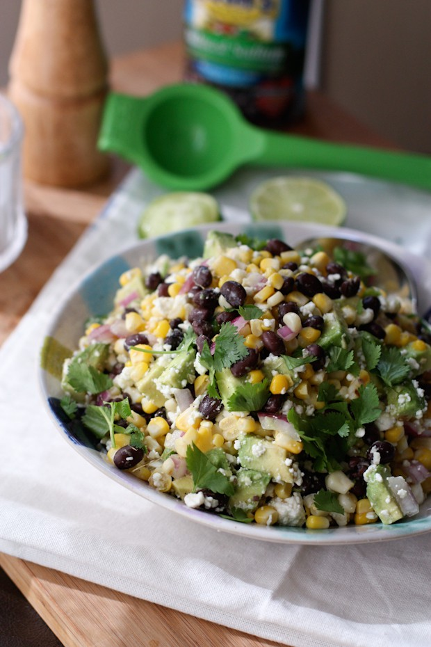 Try this Summer Black Bean and Corn Salad with Grilled Green Fish ...