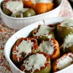 Bison and Brown Rice Stuffed Peppers | Aggie