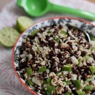 Black Bean and Rice Salad | Aggie's Kitchen