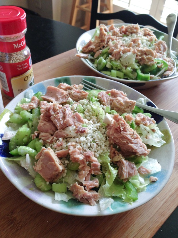 up with a name for this tuna salad the tuna i used is italian tuna