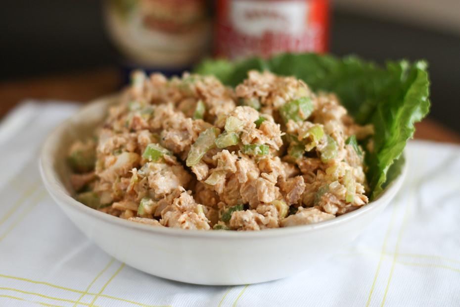 Buffalo Rotisserie Chicken Salad | Aggie's Kitchen