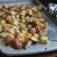 Cheddar Dill Roasted Red Potatoes | Aggie's Kitchen