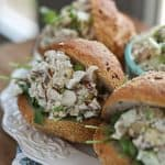 Autumn Chicken Salad with Apples and Almonds | Aggie