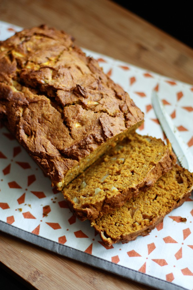 This Apple Pumpkin Bread recipe brings together the best of fall by using the flavors of pumpkin, apples and cinnamon. Your family will love this autumn inspired treat!