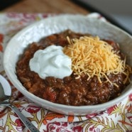 Slow Cooker Lentil and Quinoa Chili | Aggie's Kitchen