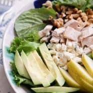 Chicken Pear and Avocado Salad Recipe