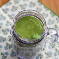 Cinnamon Pear Green Smoothie