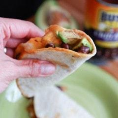 Black Chili Bean and Avocado Quesadilla | Aggie's Kitchen