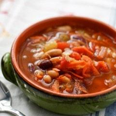 Minestrone Soup | Aggie's Kitchen