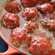 Baked Spinach and Ricotta Meatballs