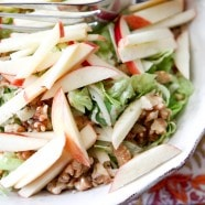 Apple, Celery and Walnut Salad with Honey Dijon Vinaigrette | Aggie's Kitchen