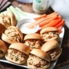 Barbecue Ranch Chicken Salad Sliders || Aggie's Kitchen