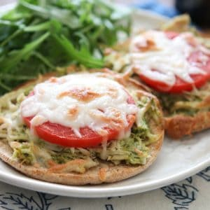 Pesto Chicken Melts