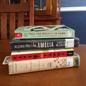 Book Love: Tell The Wolves I'm Home, Reconstructing Amelia, The Invention of Wings