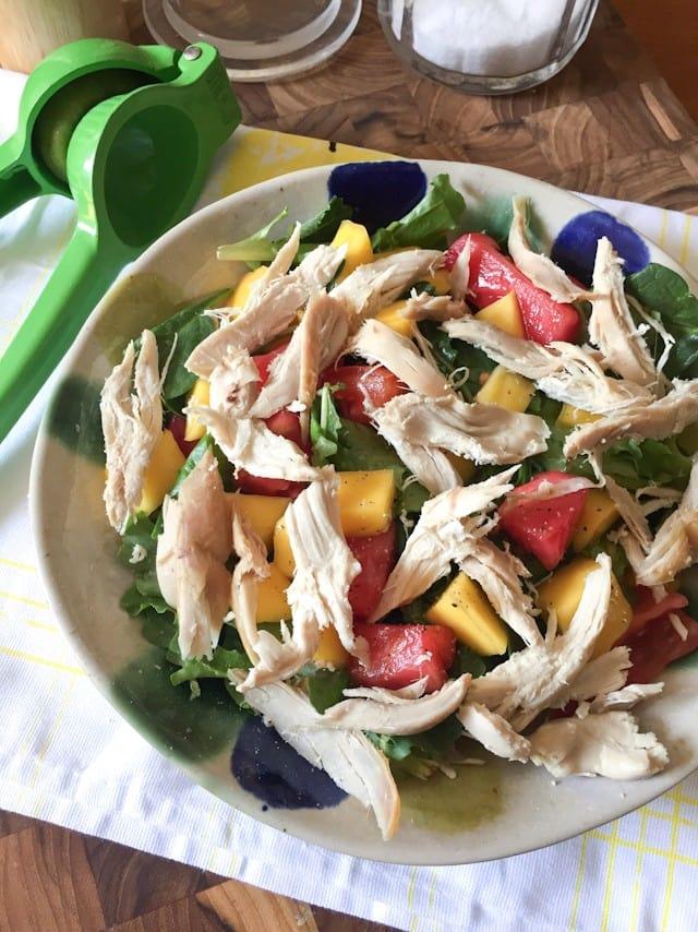 Green Mango Salad    Aggie's Kitchen