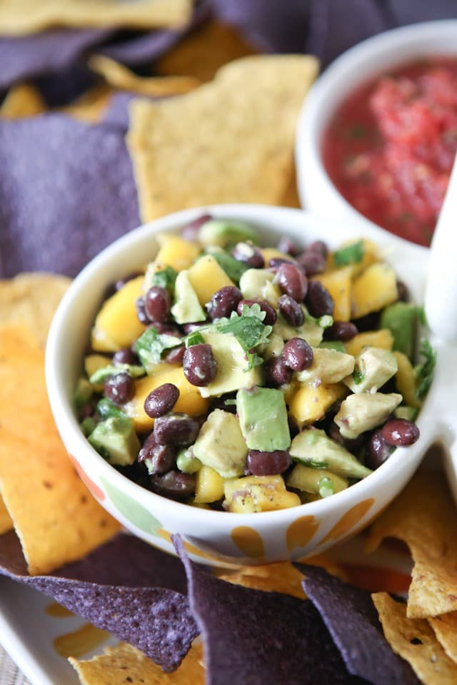 Mango Avocado And Black Bean Salsa Recipe
