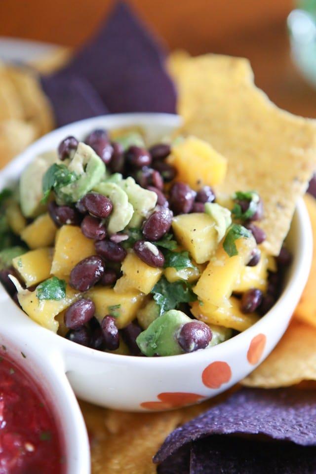 Mango Avocado and Black Bean Salsa Recipe