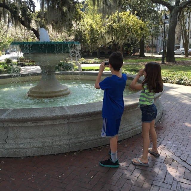 Spring In Savannah, Georgia