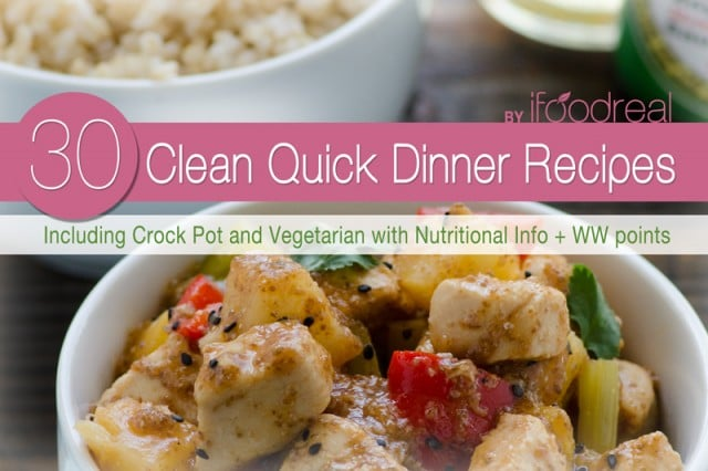 Clean Eating Dinner Recipes eBook