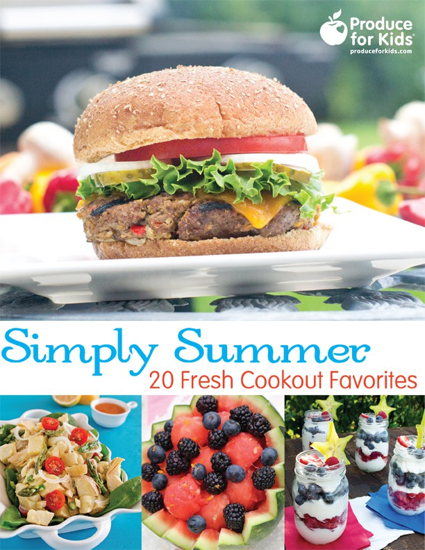 Simply Summer: 20 Fresh Cookout Favorites {FREE e-Cookbook download!}
