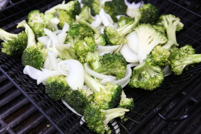 ... Broccoli and Vidalia Onion with Pine Nuts and Fresh Parmesan Cheese