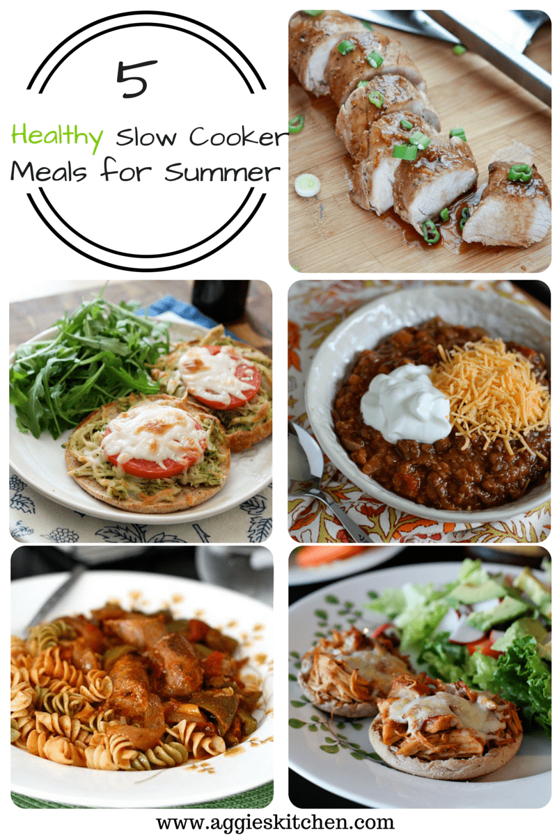 Healthy Slow Cooker Meals for Summer