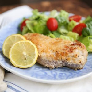 Parmesan Baked Pork Chops - my family loves these!