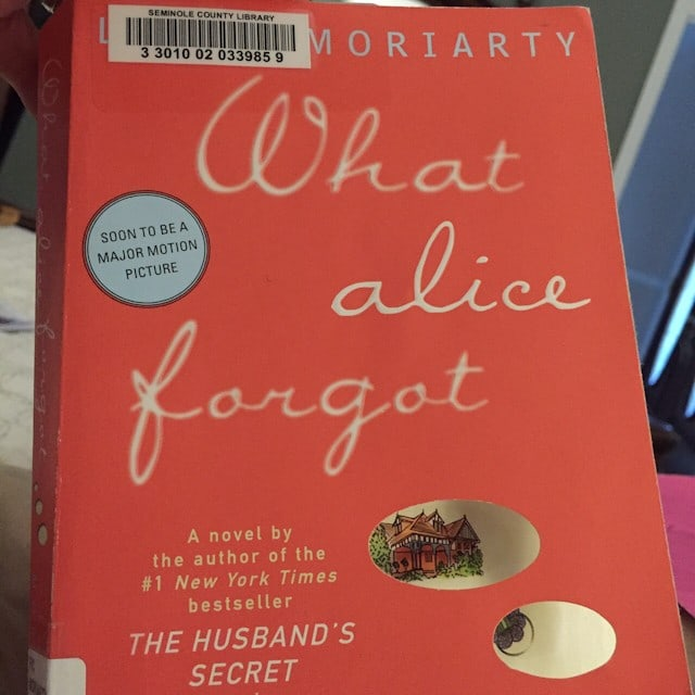 Summer Reading: What Alice Forgot