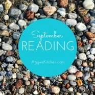September Reading List: Books I've read and books I'm currently reading