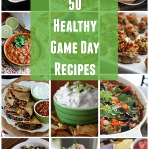Lighten things up for football season! A collection of healthier recipes to balance out your game day spread.