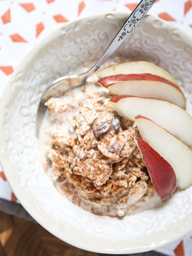 The original overnight oats! I discovered Bircher Muesli on a Princess Cruise and I've been obsessed with it ever since!