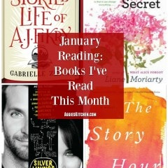 January Reads : Books I've Read This Month