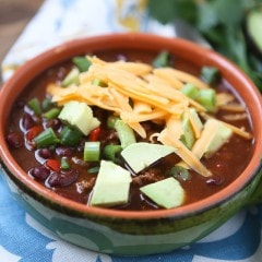 This Chipotle Chicken Chili recipe is one of the best chilis I've ever made! Find the recipe at aggieskitchen.com