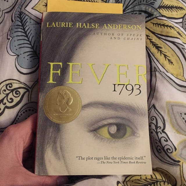 March Reading List: Fever 1793